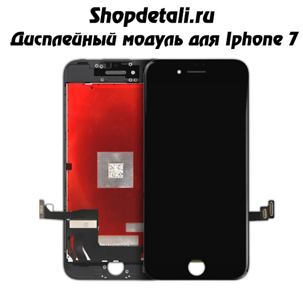 Дисплей Apple Iphone 7 (черный - AАА)